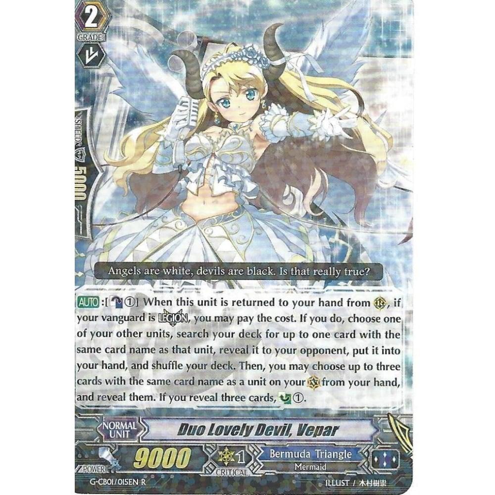 G-CB01//015EN R VEPAR FOIL RARE CARDFIGHT VANGUARD: DUO LOVELY DEVIL