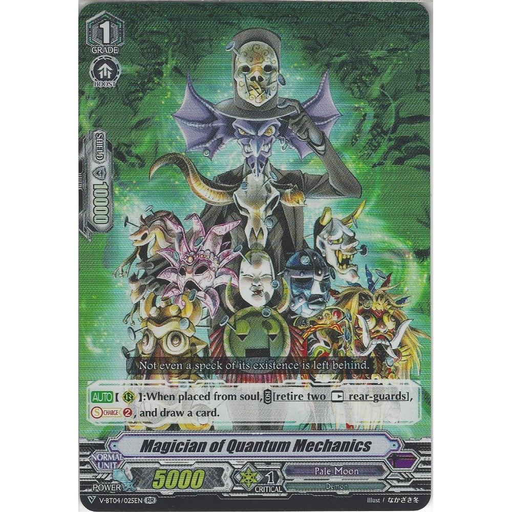 Magician of Quantum Mechanics - V-BT04/025EN RR - Double Rare Card