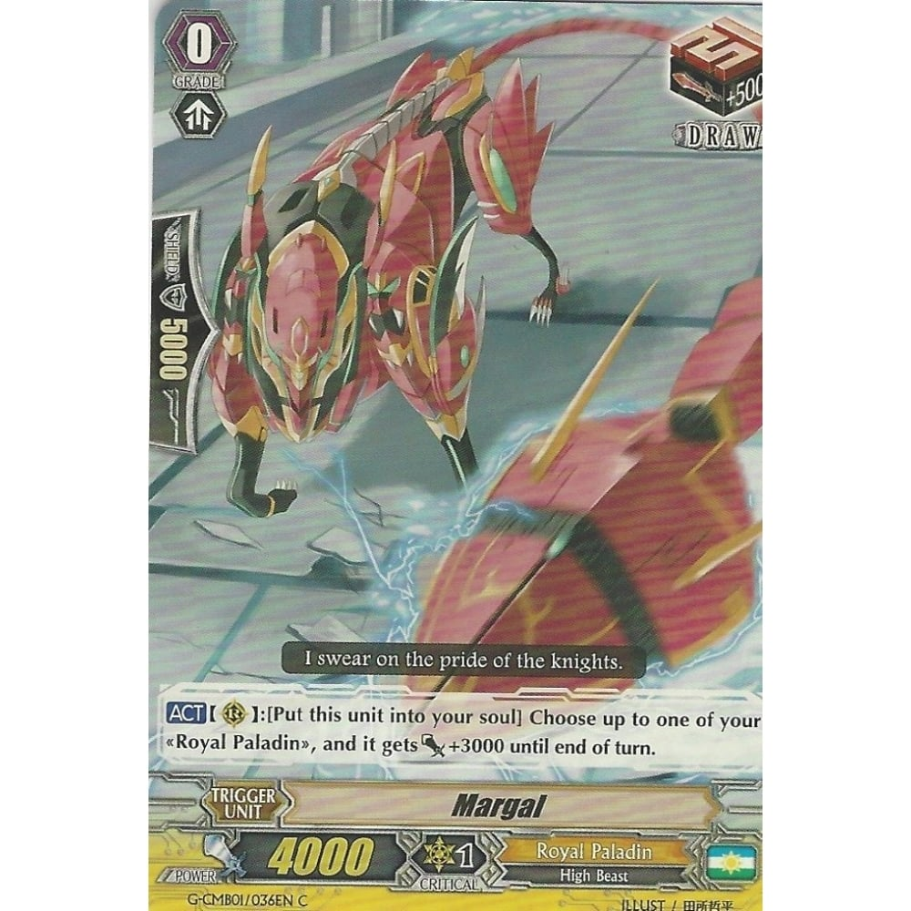 CARDFIGHT VANGUARD CARD G-CMB01//036EN C MARGAL