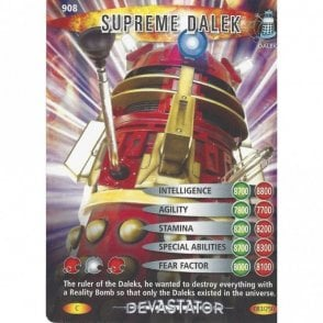 DR WHO DEVASTATOR CARD 867 PROGENATION MACHINE