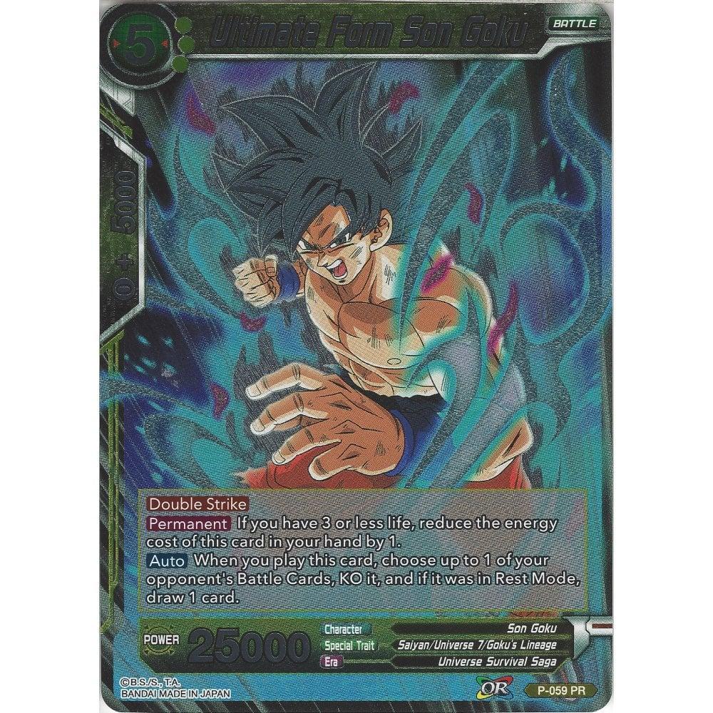 Near Mint! Dragon Ball Super TCG Ultimate Form Son Goku P-059 FOIL