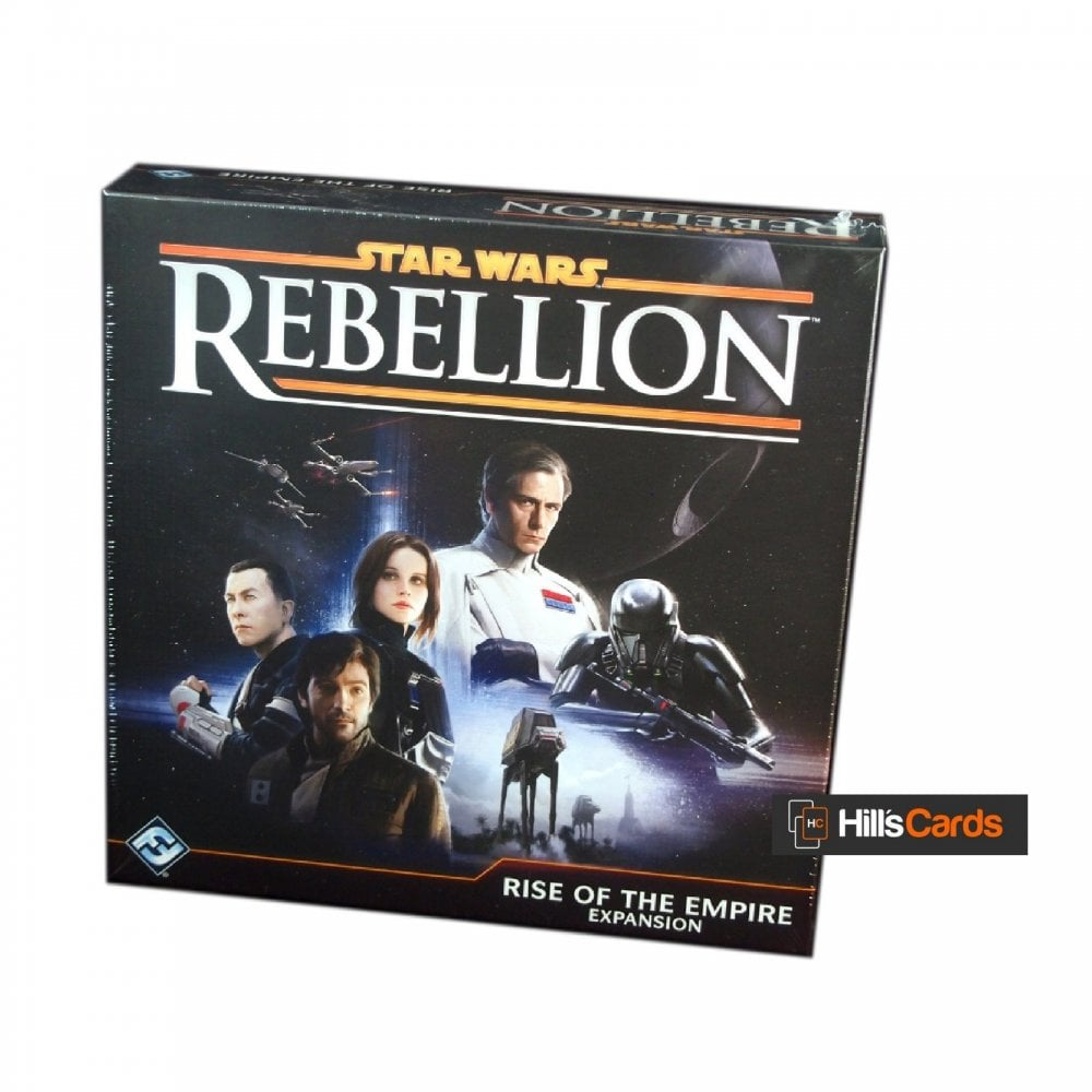 Fantasy Flight Games Rise Of The Empire Expansion For The Star Wars Rebellion Board Game Ffg Sw04 Board Card Games From Hills Cards Uk