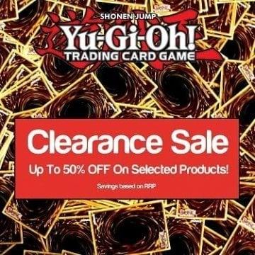 Yu-Gi-Oh Trading Card Game Clearance Sale