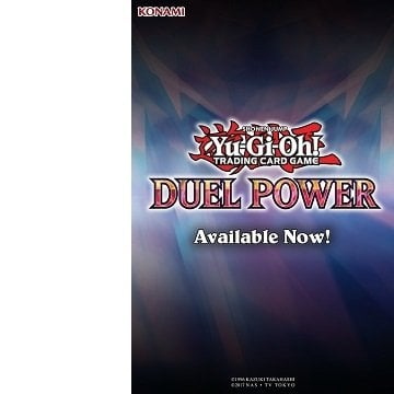 Yu-Gi-Oh! Trading Card Game Duel Power Collectors Booster Set Available Now