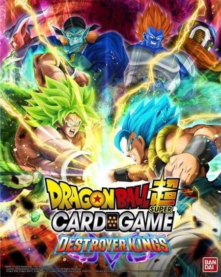 Dragon Ball Super Card Game Destroyer Kings Booster Set