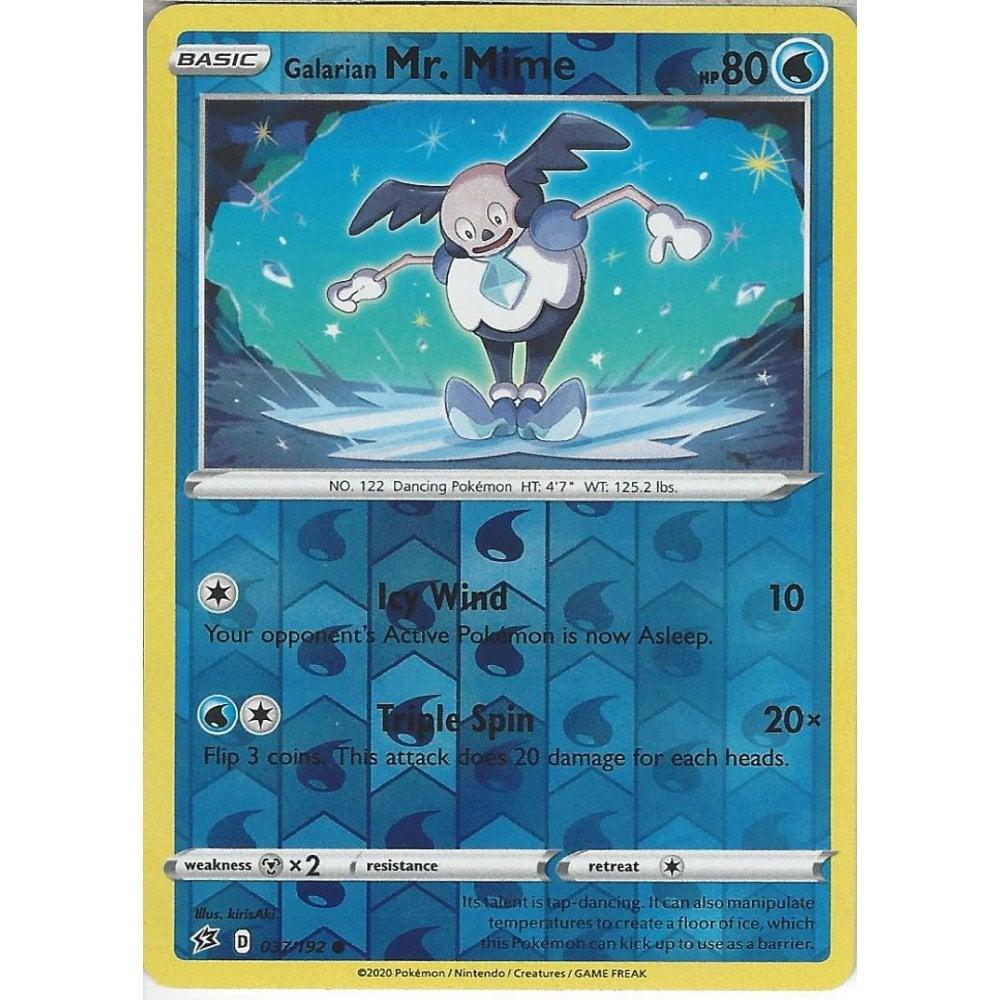 095//192 Galarian Sirfetch/'dRare Holo Card Pokemon Sword /& Shield Rebel Clash