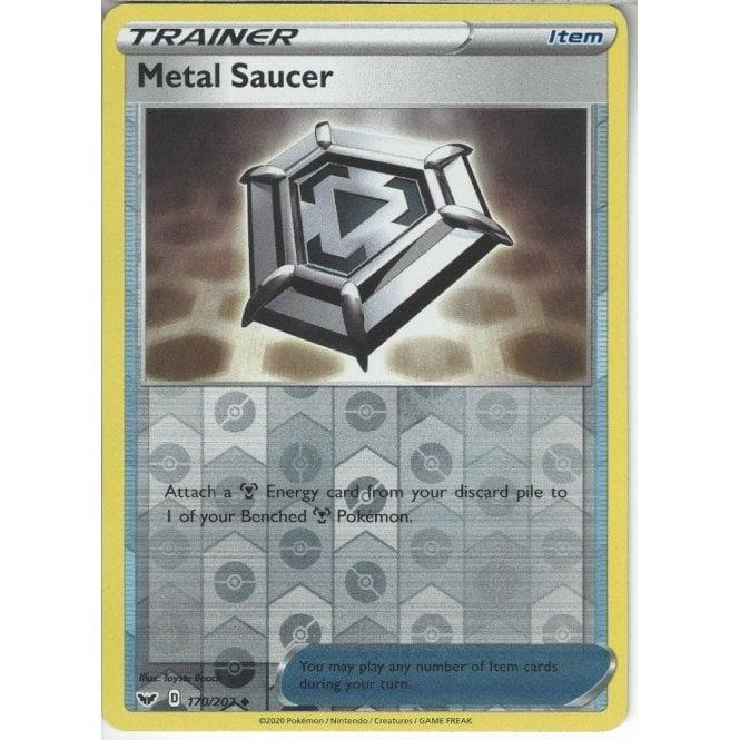 Pokemon SWSH SWORD /& SHIELD METAL SAUCER 170//202 UNCOMMON