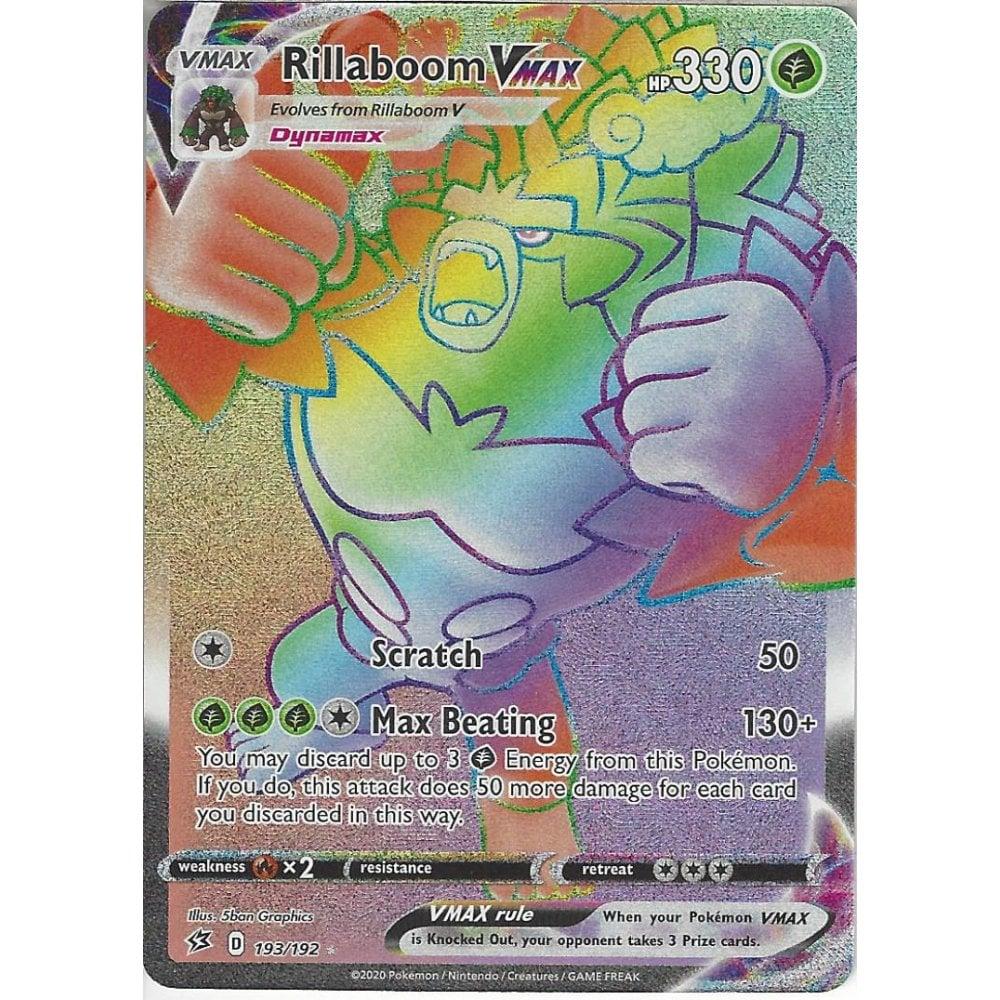 Pokemon Trading Card Game 193/192 Rillaboom VMAX