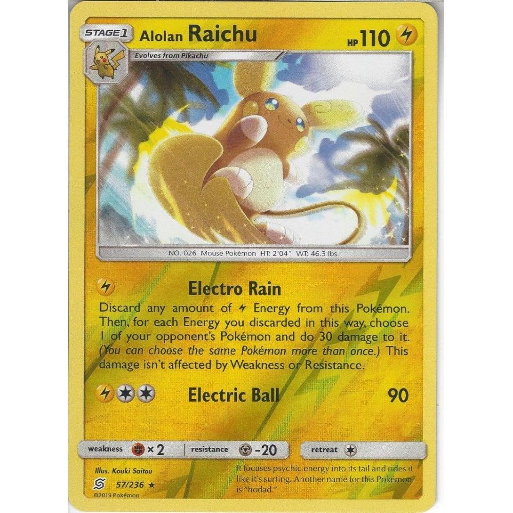 Pikachu set 56//236 57//236 Unified Minds Pokemon Card  Near Mint