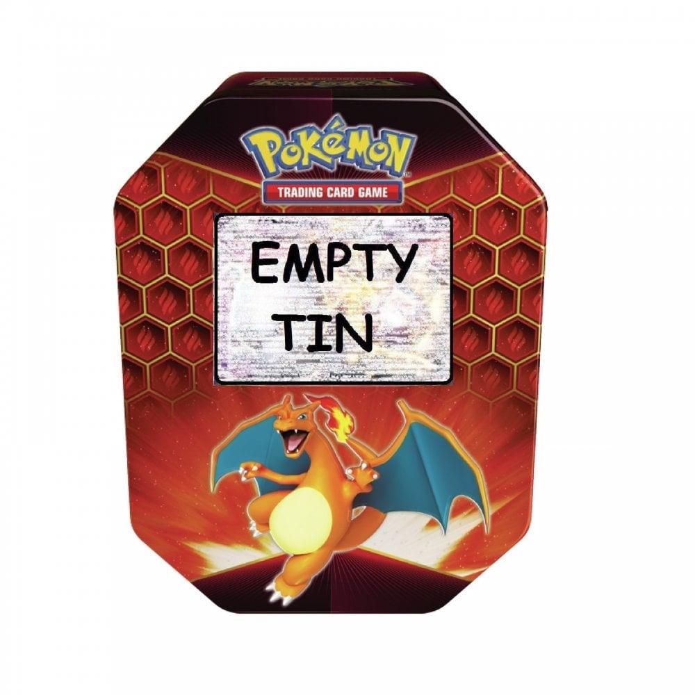 Pokemon Empty Storage Tins Trading Card Storage