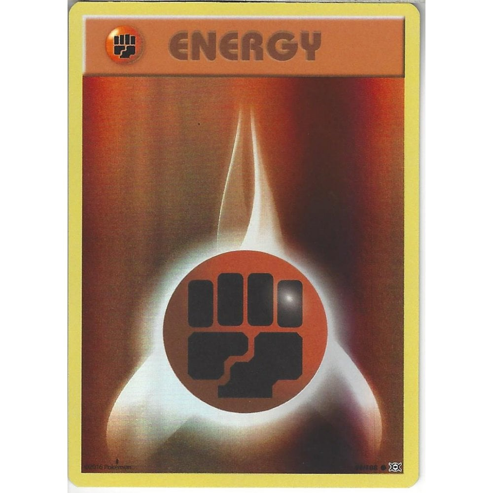 Evolutions Excellent Pokemon Card Reverse Holo 96//108 Fighting Energy
