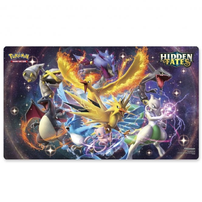 Pokemon Trading Card Game Hidden Fates Play Mat From The