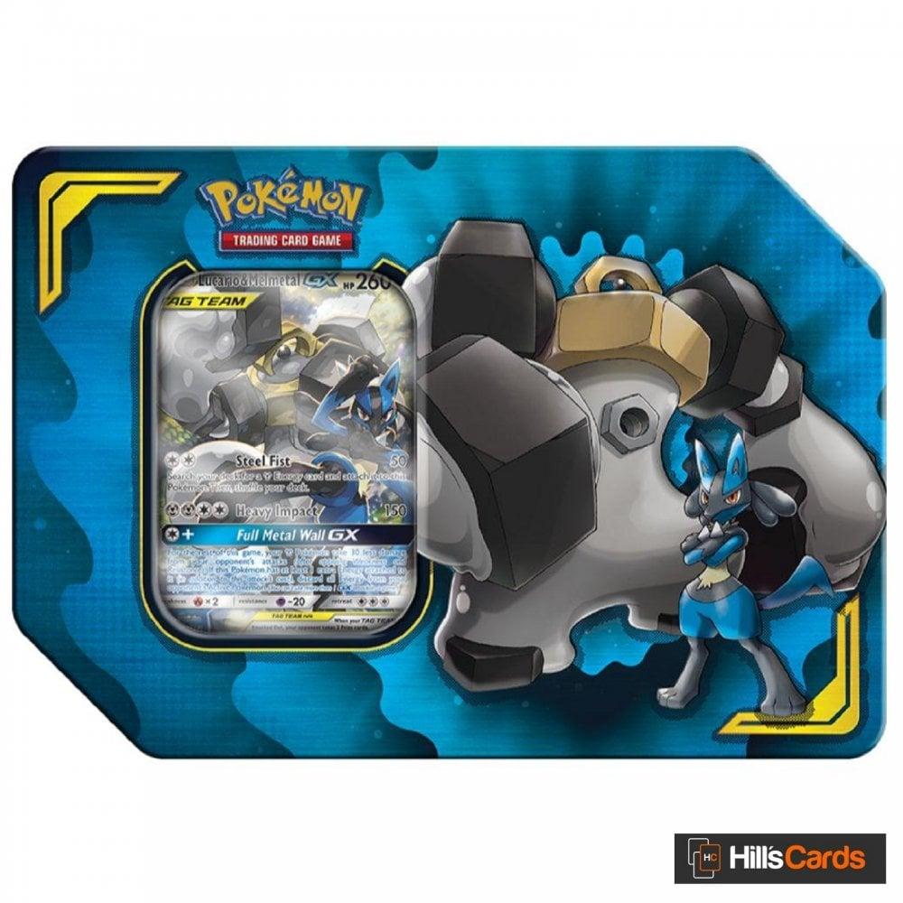 Brand New And Sealed! Mewtwo /& Mew GX Pokemon TCG Power Partnership Tin