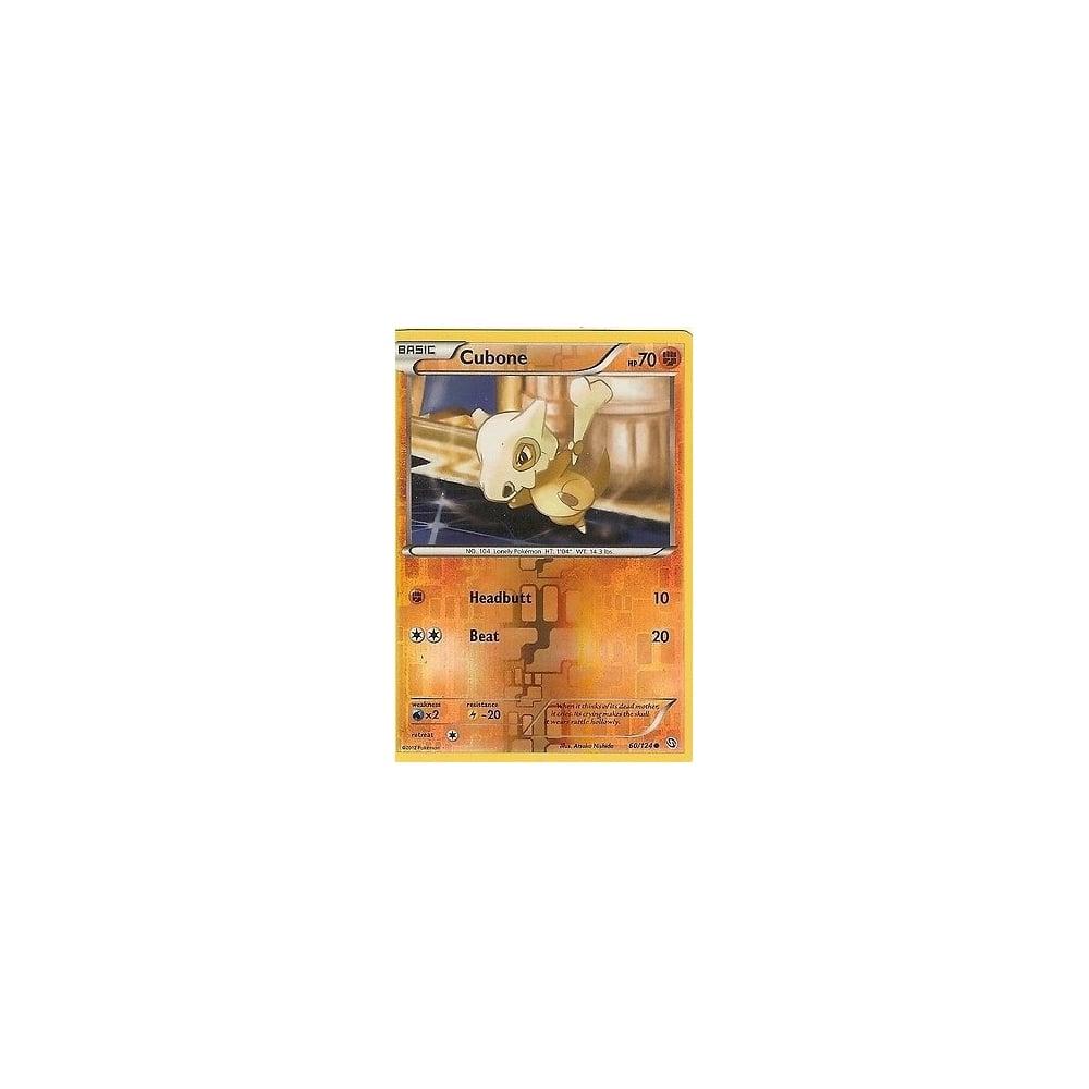 CUBONE 60//124 POKEMON BLACK /& WHITE DRAGONS EXALTED
