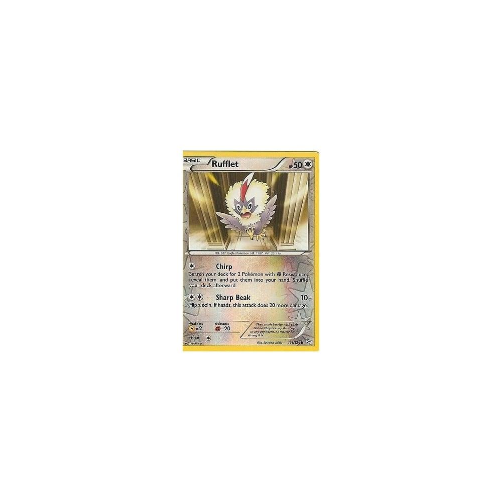 POKEMON BLACK /& WHITE DRAGONS EXALTED RUFFLET 111//124