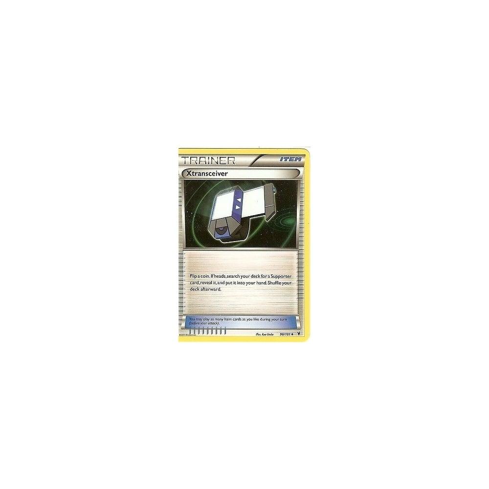 POKEMON BLACK /& WHITE NOBLE VICTORIES XTRANSCEIVER 96//101