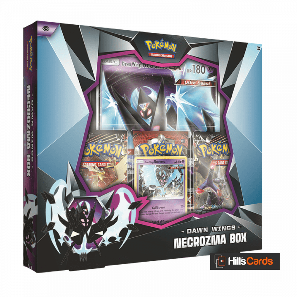 Pokemon Dawn Wings Necrozma Collection Box Inc 3 Booster Packs Promo Cards