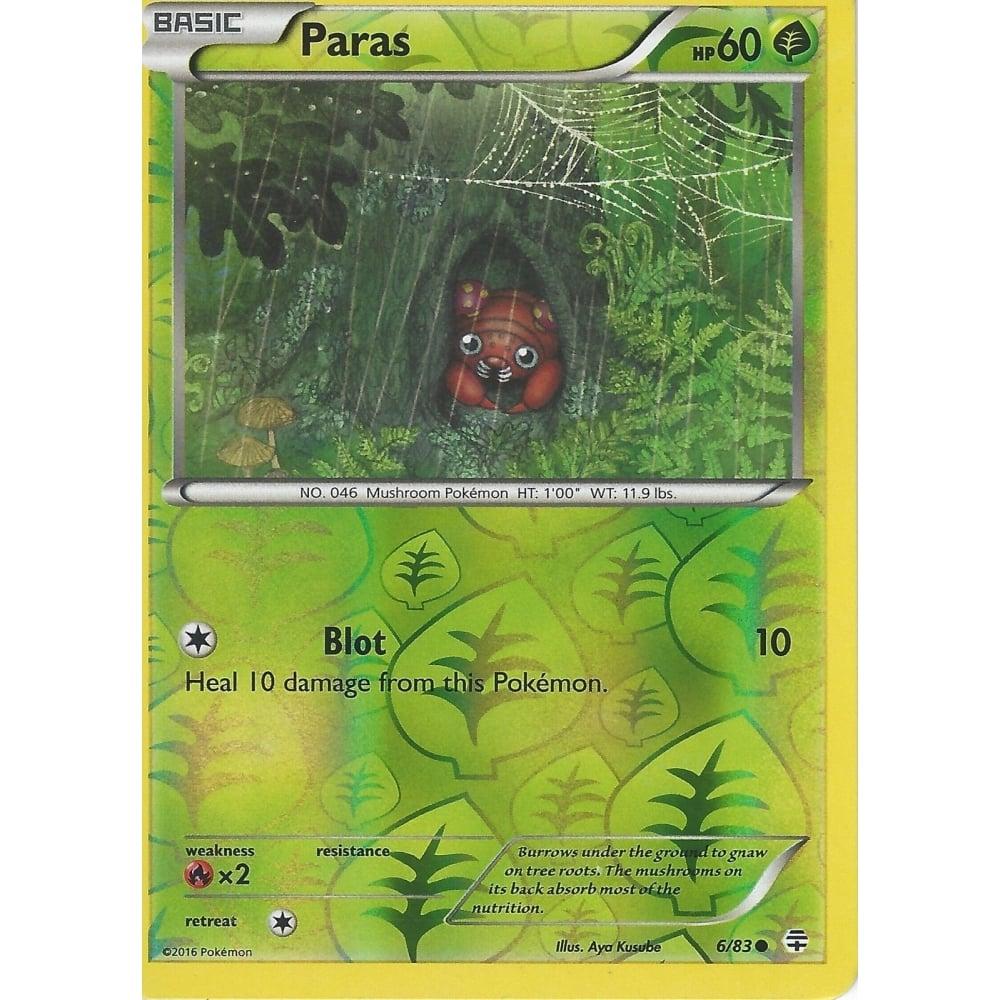 POKEMON GENERATIONS CARD PARAS 6//83