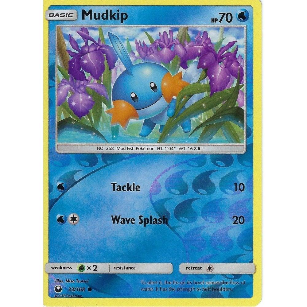 Reverse Holo Mudkip 33//168 Pokemon SM Celestial Storm Card