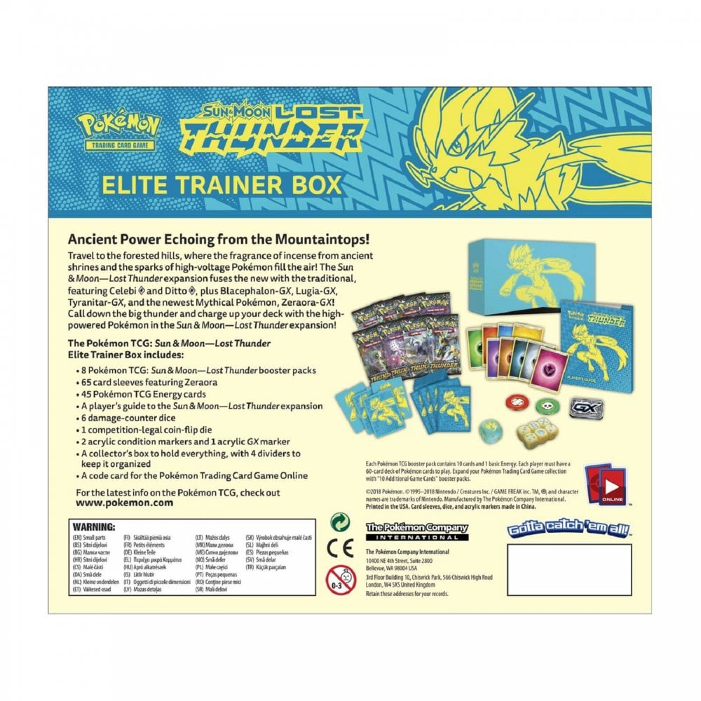 photo relating to Printable Pokemon Trading Cards named Pokemon Investing Card Sport Pokemon Sunshine Moon Dropped Thunder