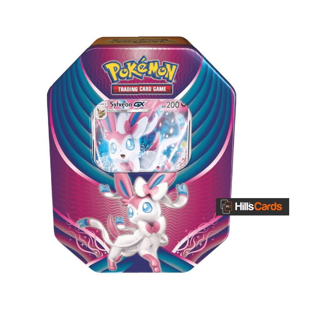 Pokemon Sylveon-GX - Evolution Celebration Collectors Tin: Boosters + TCG  Promo