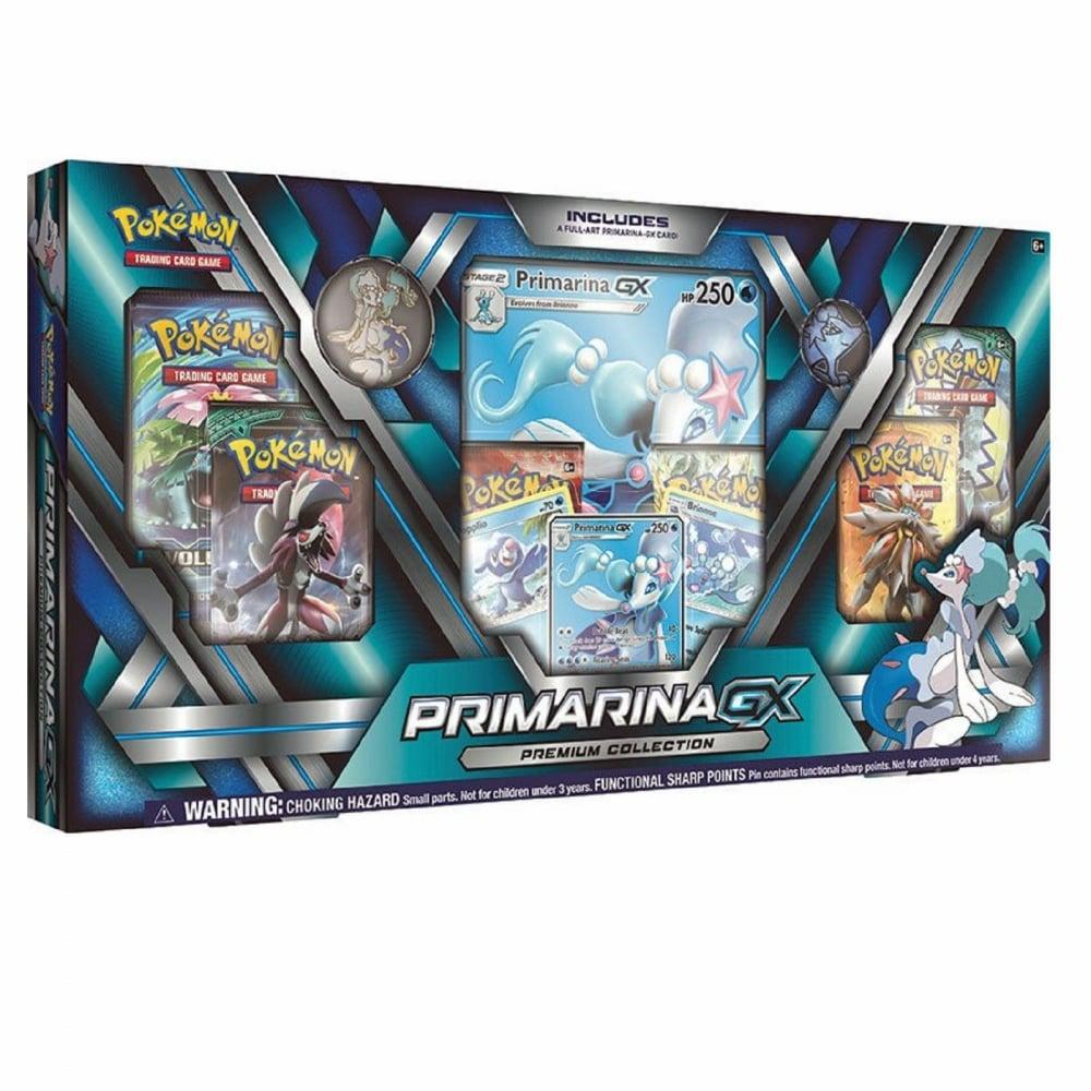 Pokemon Tcg Primarina Gx Premium Collection Box Inc Booster Packs Promo Cards
