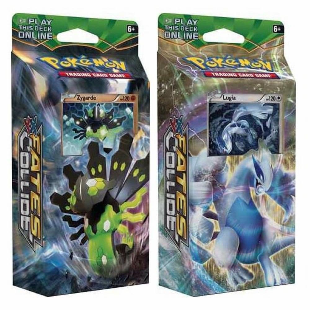 Pokemon Trading Card Game Pokemon XY-10 Fates Collide Both Decks: Battle  Ruler Zygarde + Sky Guardian Lugia