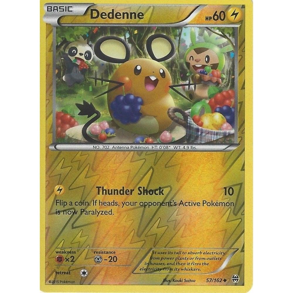 4x Dedenne Uncommon NM-Mint Pokemon XY 57//162 Breakthrough