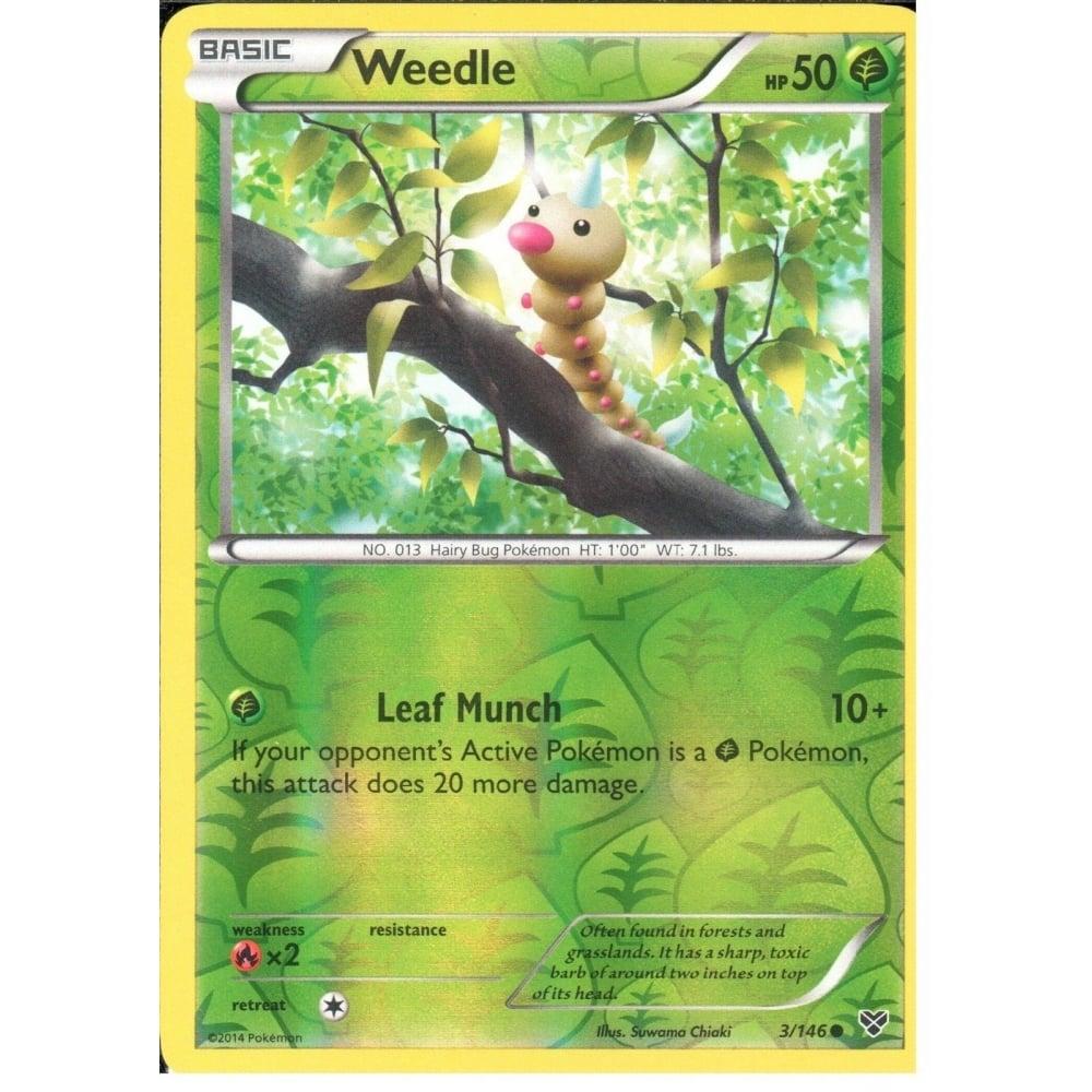 WEEDLE 3//146 POKEMON XY