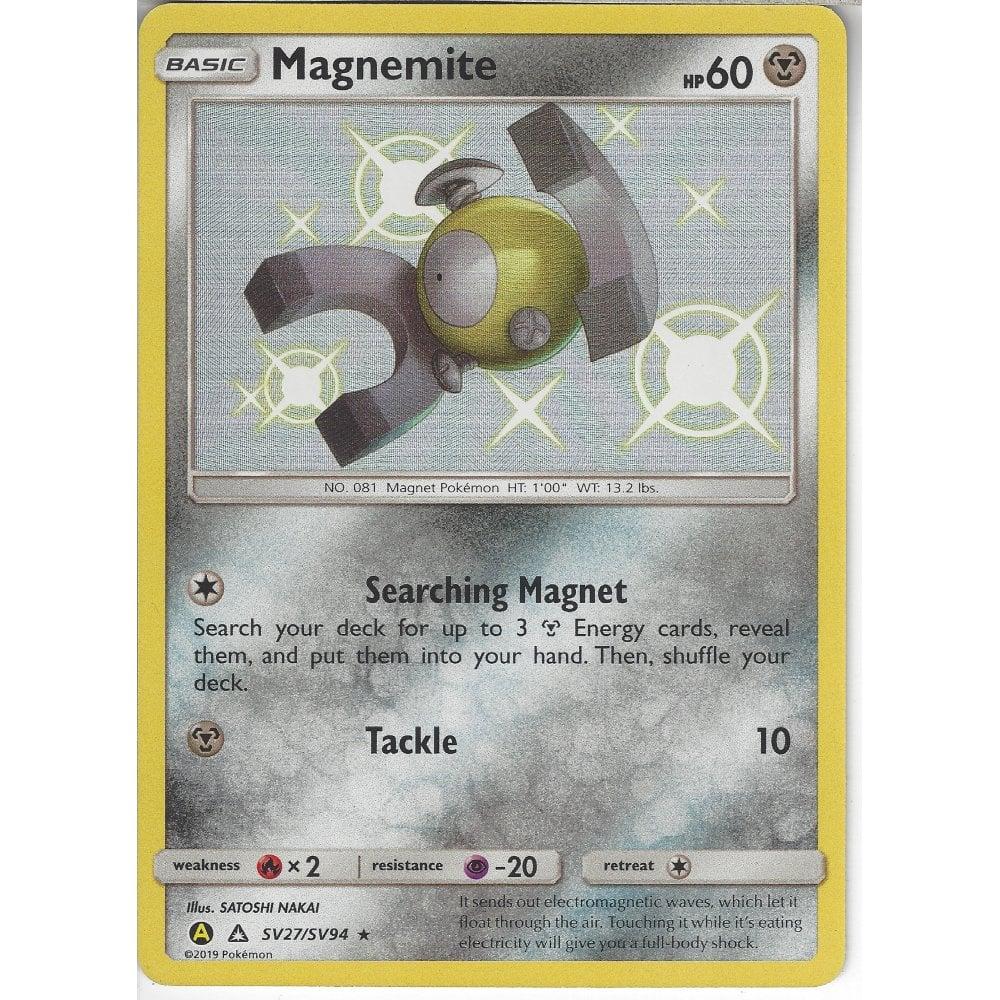 Shiney Holo Magnemite Rare SV27//SV94