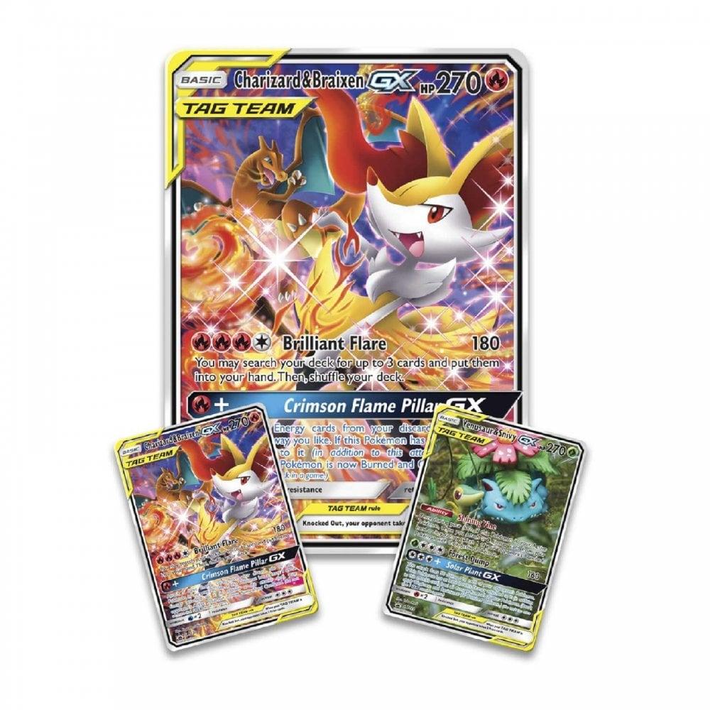 Pok/émon Umbreon GX Premium Collection Box and Charizard GX Premium Collection Box Trading Card Game Bundle 1 of Each