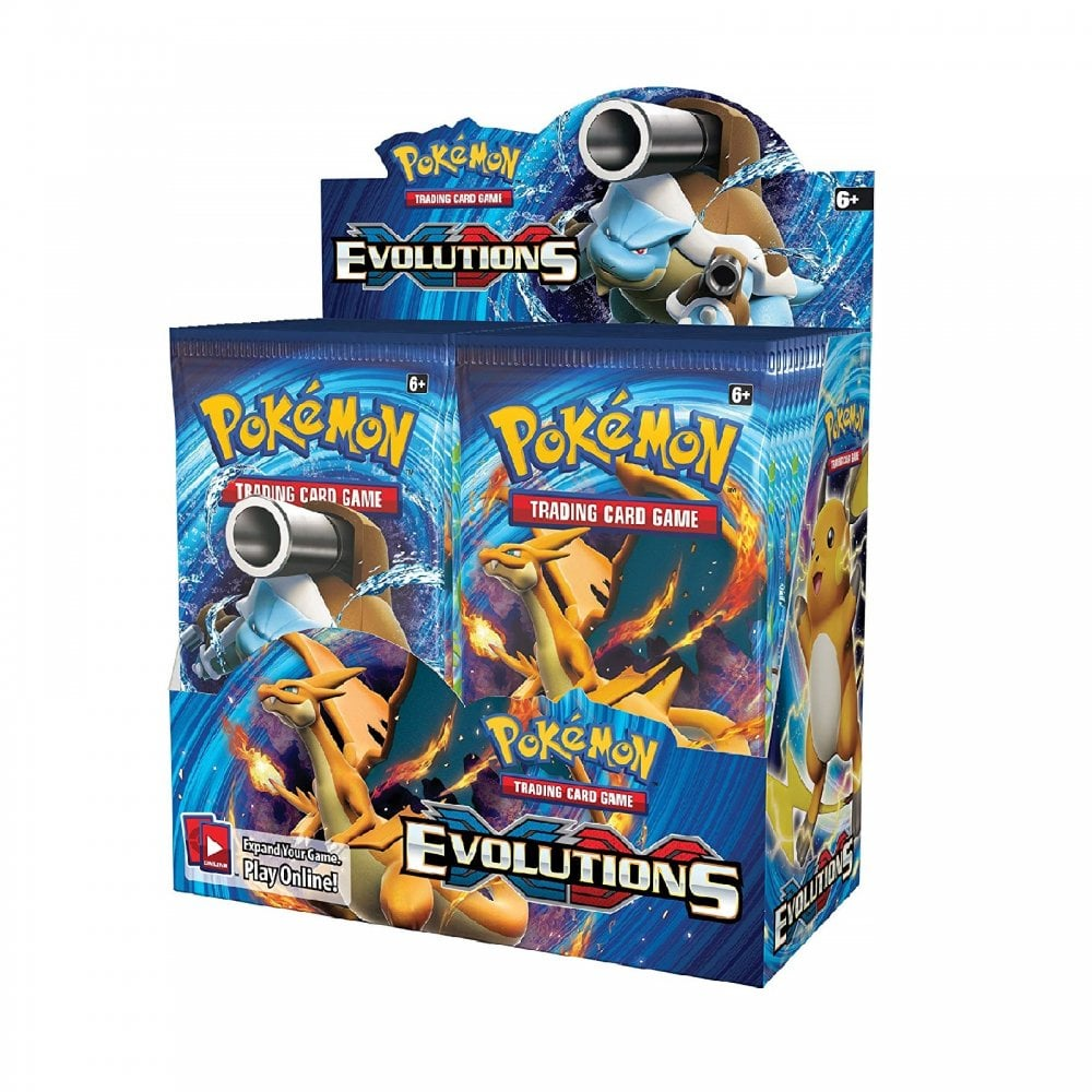 Pokemon Trading Card Game XY Evolutions | Sealed Booster Box of 36 Packs XY-12 - Trading Card ...