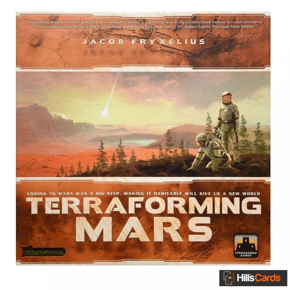 Stronghold Games,Fryxgames Terraforming Mars Board Game - Board ...
