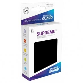 80 Piece Ultimate Guard Supreme UX Card Sleeves Standard Size Light Green