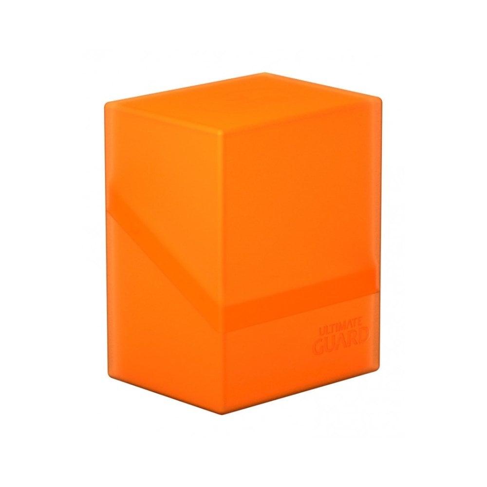 Poppy Topaz Orange Collectible Card Protection UGD010845 Ultimate Guard Deck Box Boulder Standard 80