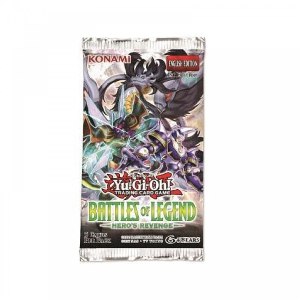 Battles of Legend: Hero's Revenge - 1 Sealed Booster Pack