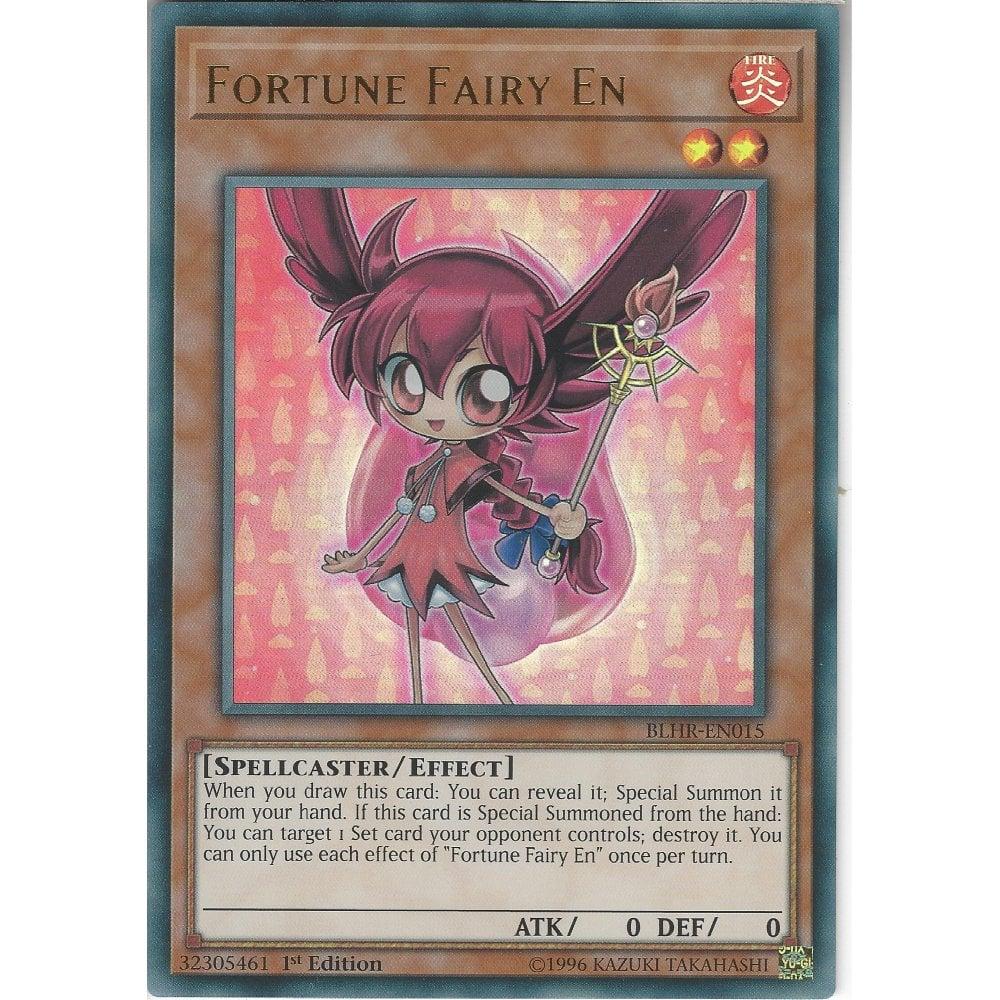 BLHR-EN015 Fortune Fairy En | 1st Edition | Ultra Rare Card