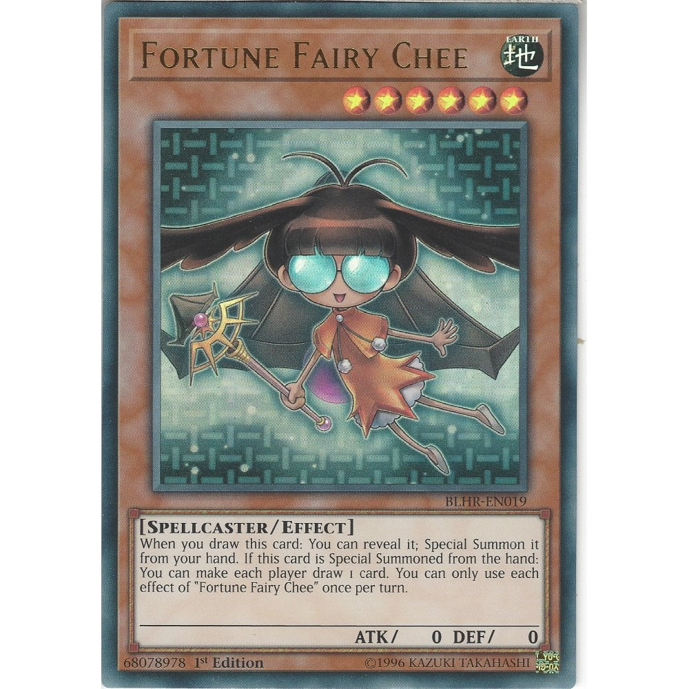 BLHR-EN019 Fortune Fairy Chee | 1st Edition | Ultra Rare Card