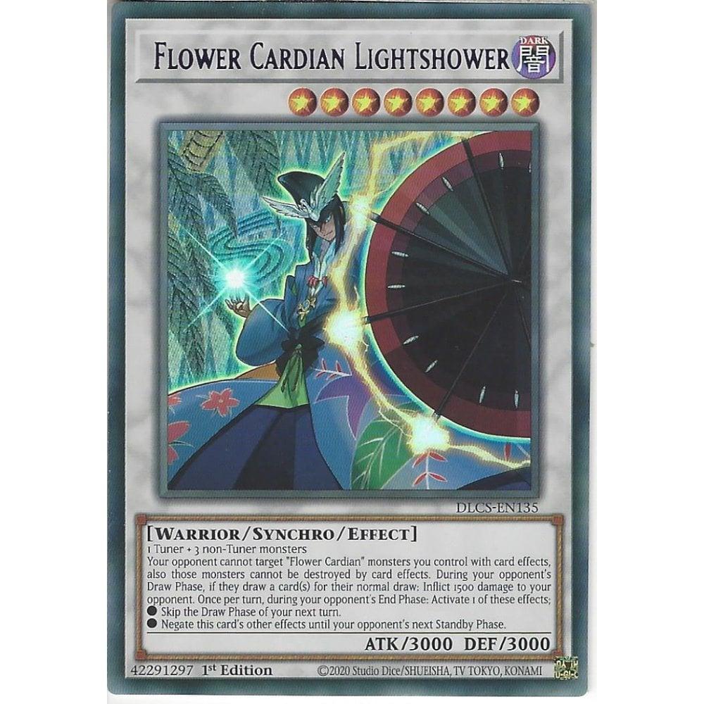 Flower Cardian Lightshower 1st Edition Purple Ultra DLCS-EN135 Yu-Gi-Oh!