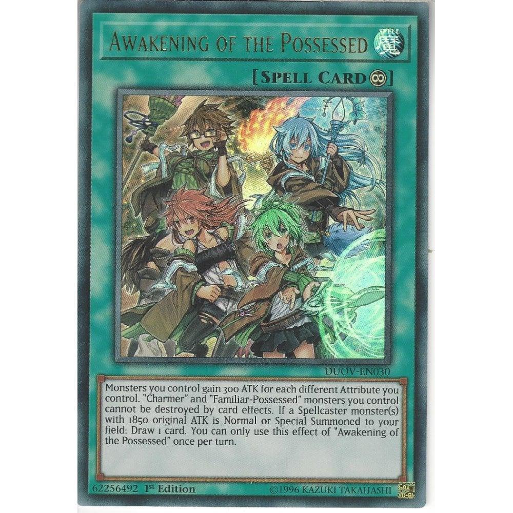 DUOV-EN030 Awakening of the Possessed1st EditionUltra Rare Card YuGiOh TCG