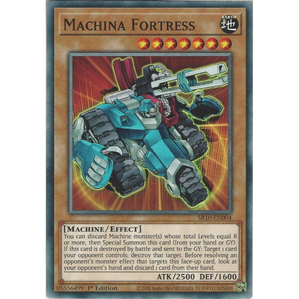 SR10-EN004 Machina Fortress Common 1st Edition Mint YuGiOh Card