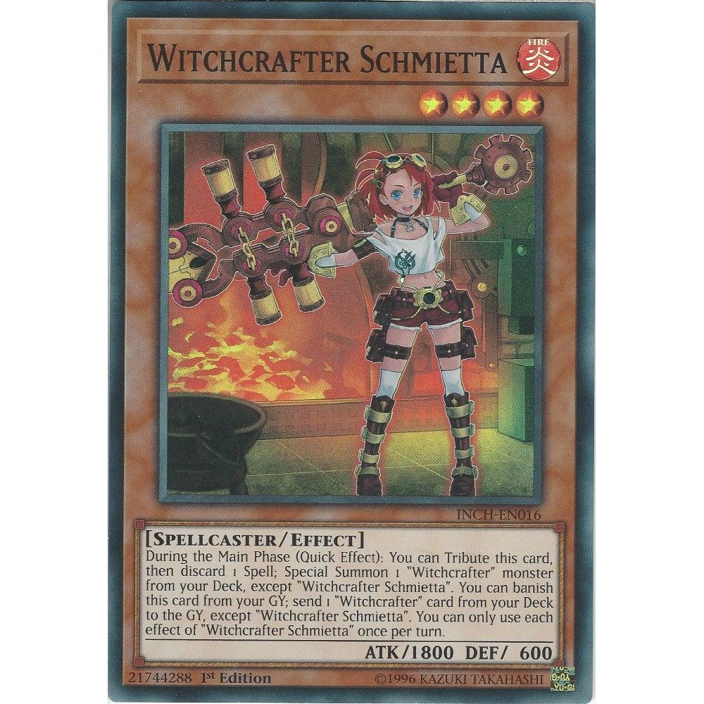 Witchcrafter Schmietta 1st Edition - Super Rare INCH-EN016