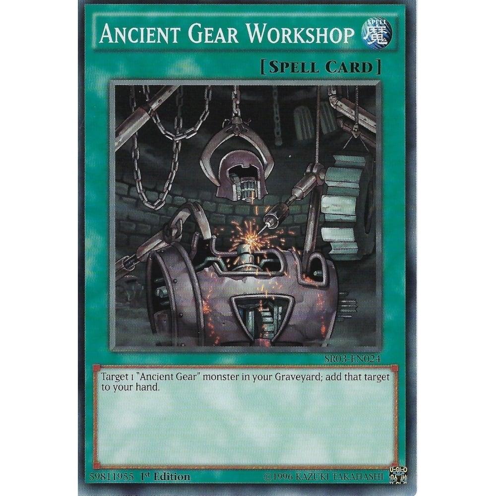 Ancient Gear Castle SR03-EN023 Common 1st EditionNM//Mint