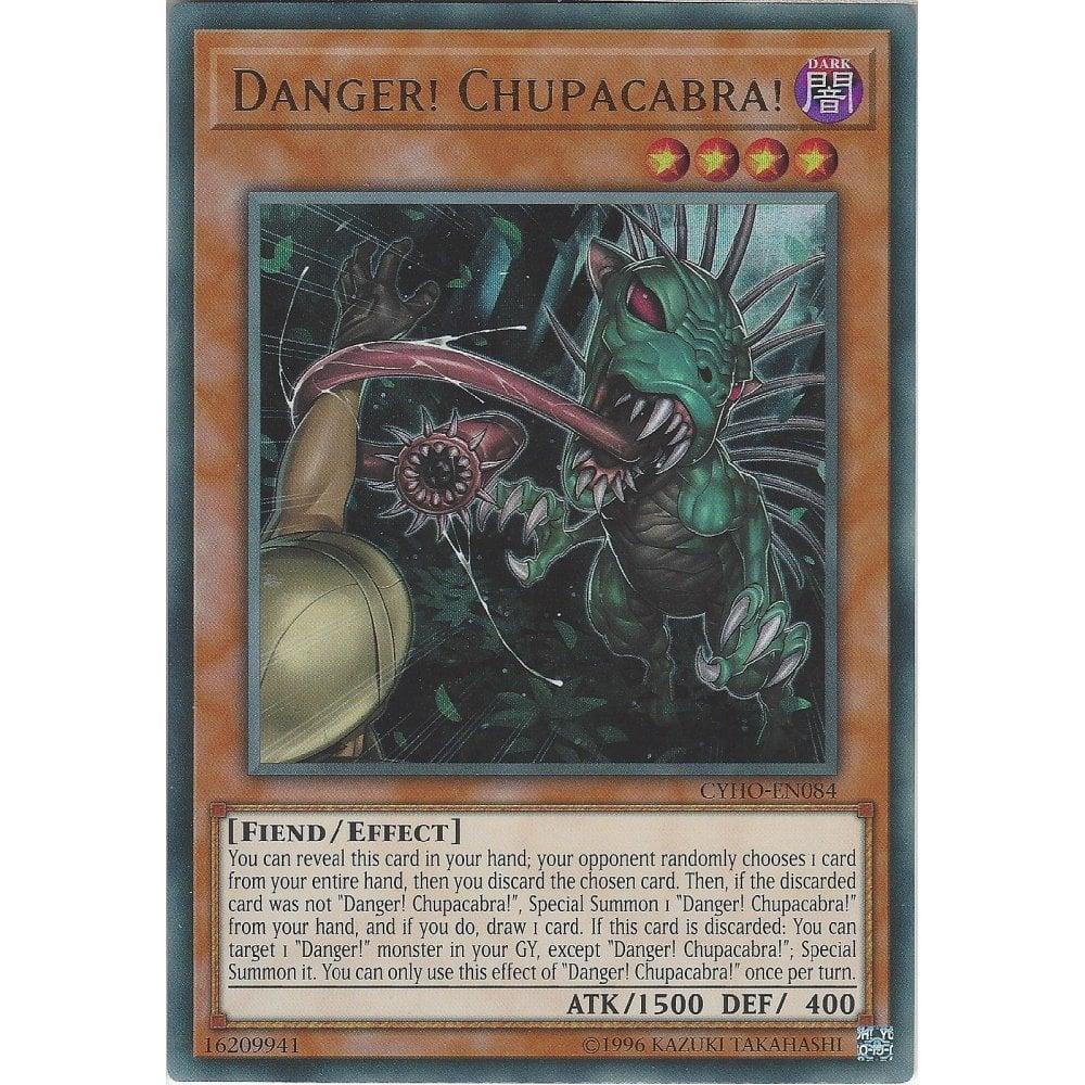 Danger CYHO-EN084 Ultra Rare Mint Condition 1st Edition Chupacabra