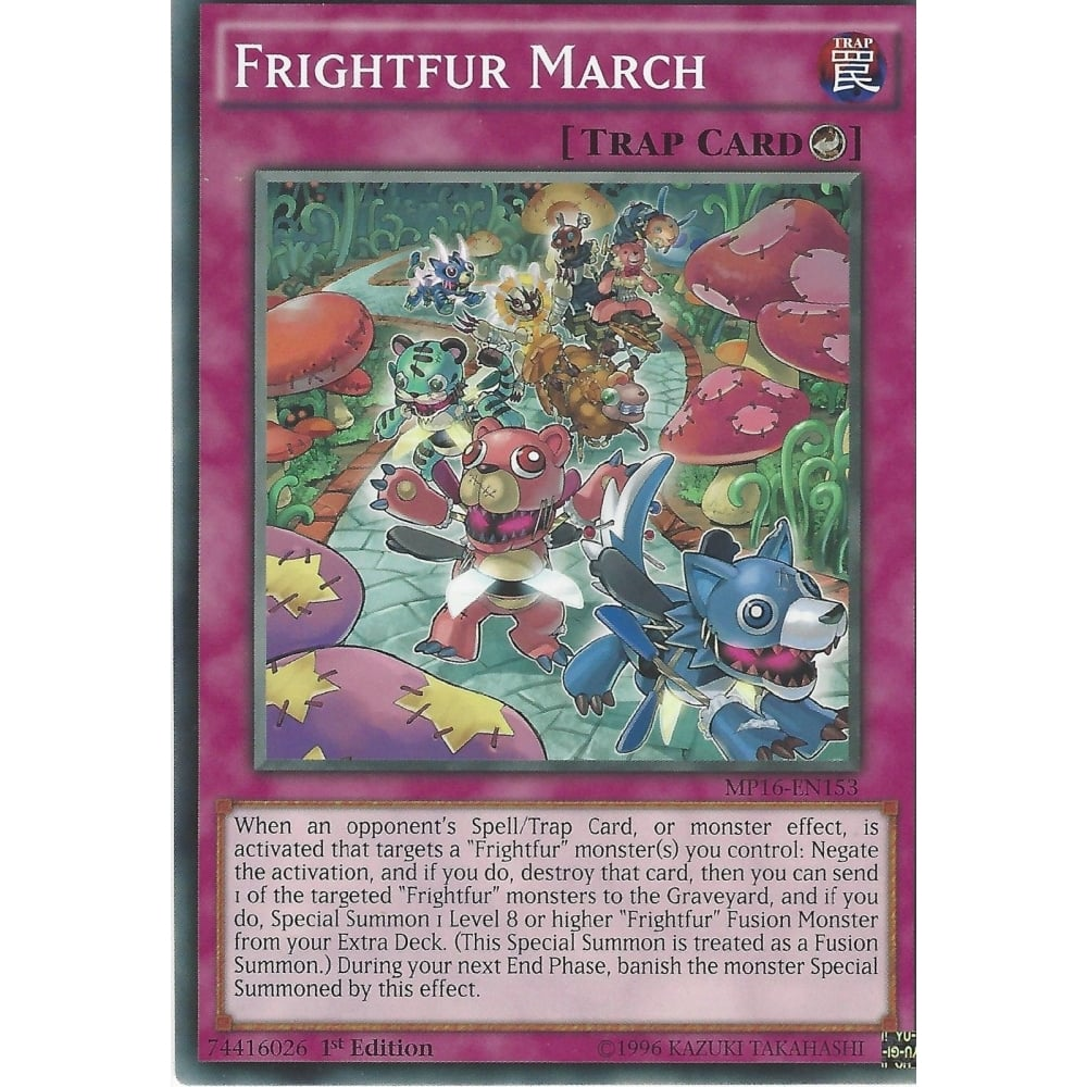 RARE FRIGHTFUR CHIMERA CROS-EN043 YU-GI-OH CARD