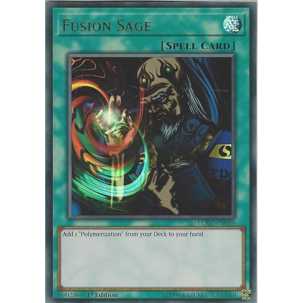 Fusion Sage LCKC-EN089 Ultra Rare 1st Edition