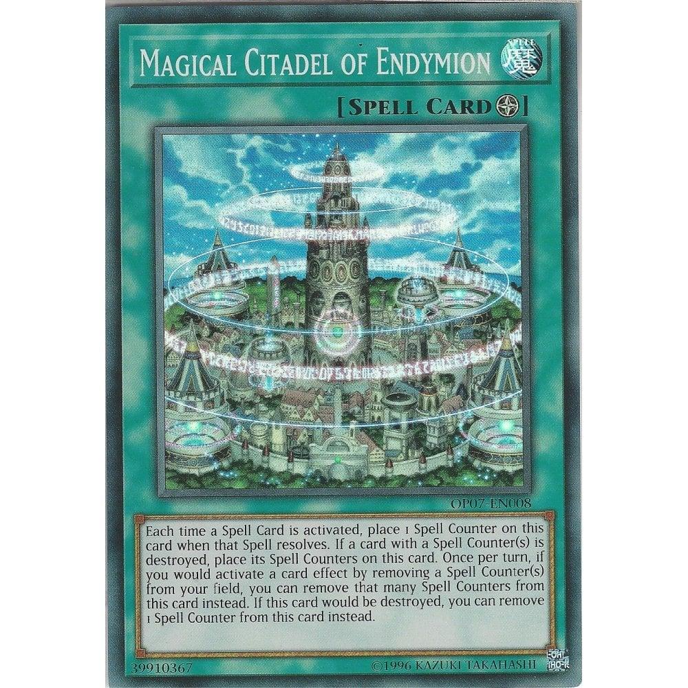 Yu-Gi-Oh MAGICAL CITADEL OF ENDYMION - OP07-EN008 - Super Rare Card