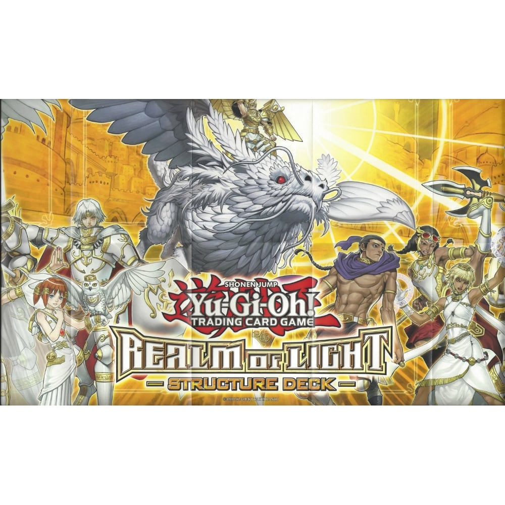 Yu-Gi-Oh! Trading Card Game YU-GI-OH PLAYMAT FROM THE REALM OF LIGHT  STRUCTURE DECK
