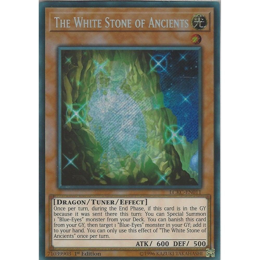 The White Stone of Ancients LCKC-EN011 Secret YUGIOH Legendary Collection K