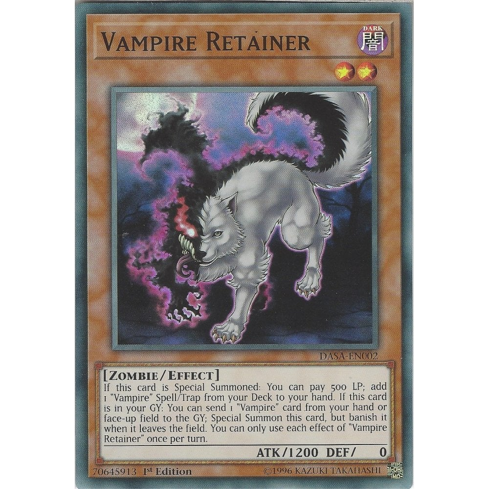 MP19-EN237 Vampire Scarlet Scourge1st EditionCommon Card YuGiOh TCG Effect